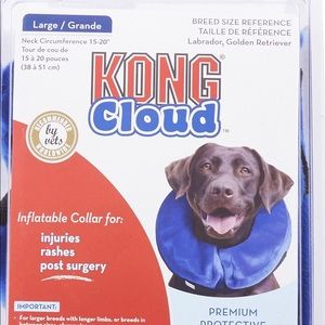 Kong Cloud Inflatable Collar for Injuries